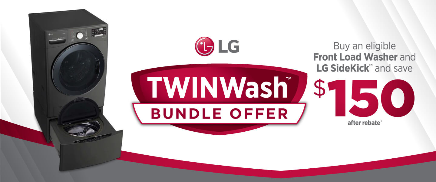 LG: TWINWash Bundle Offer